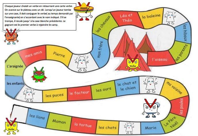Jeux de grammaire cole pinterest grammaire jeux de grammaire et jeux - Grammaire ce1 a imprimer ...