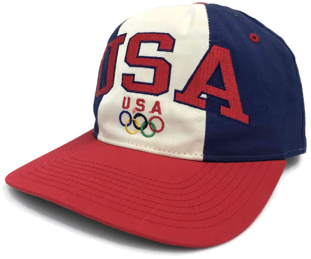 8c2699d9 Vintage Starter Team USA Snapback Cap Dream Team Olympics Adjustable Hat  Size Sz #Starter #USA