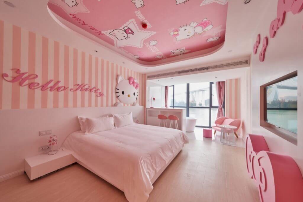 Bedroomdesignhellokitty Hello Kitty Bedroom Decor Hello Kitty Bedroom Pink Bedroom Design Luxury hello kitty pink room