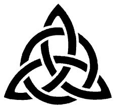 I like this. It's a Triquetra. A symbol that represents the 3 aspects of the feminine life cycle, the maiden (the young virgin), the mother (pregnancy and motherhood) and the crone (old