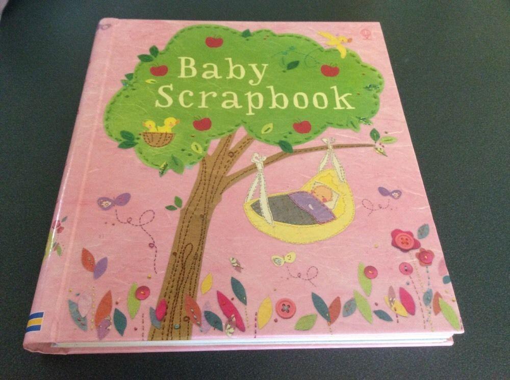 New Usborne Baby Scrapbook Keepsakes & Baby Announcements Baby Books & Albums