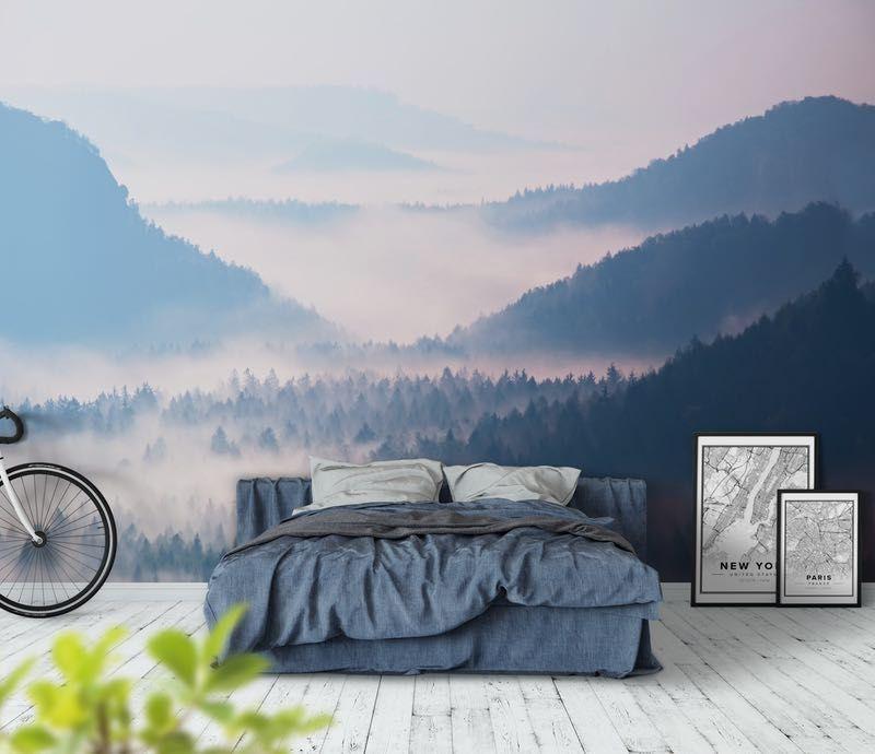 Soluppgång Fototapet Sunrise wallpaper, Wall murals