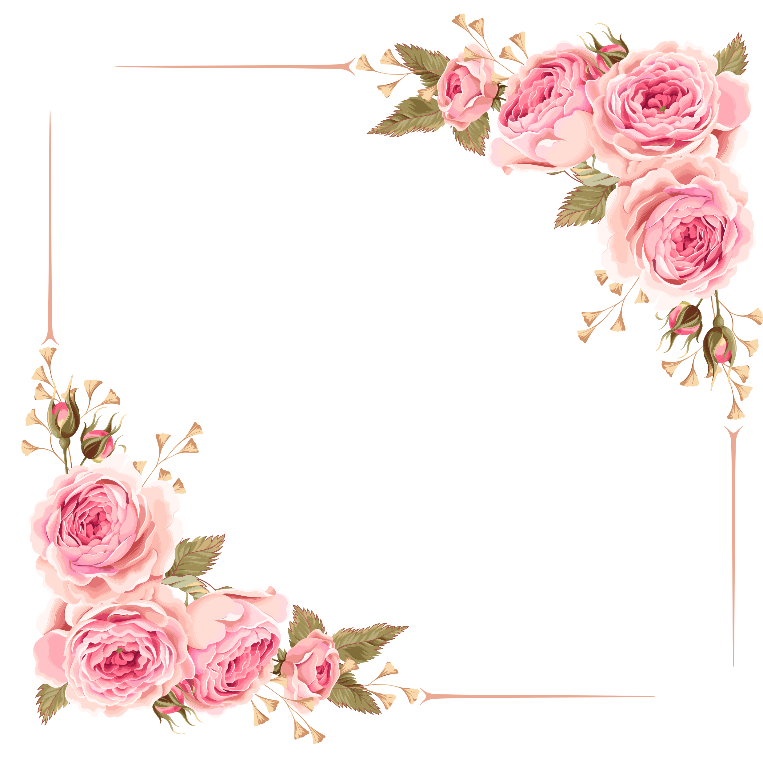 CLIPART WALLPAPER BLINK Peach Flower Clipart transparent