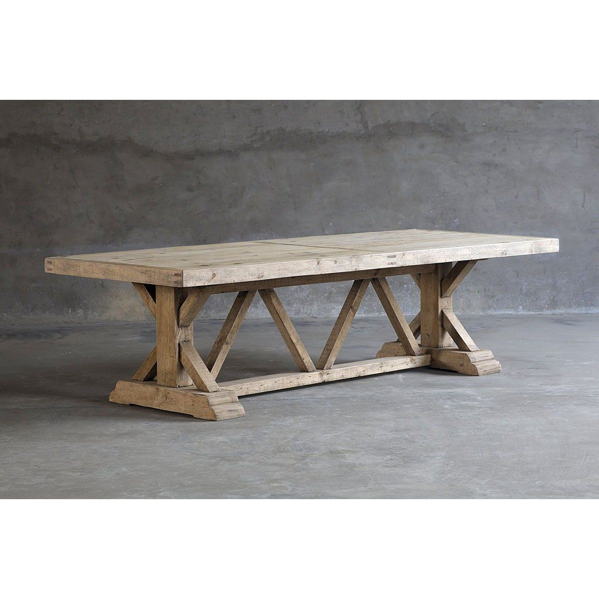 Salvaged Wood Trestle Dining Table Dining Table Trestle Dining Tables Small Rectangle Dining Table