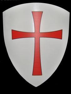 Scudo Templare Armature Elmi Scudi Scudi Medievali Scudo