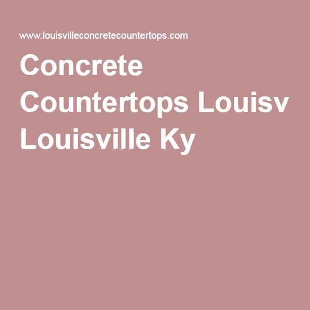 Concrete Countertops Louisville Ky