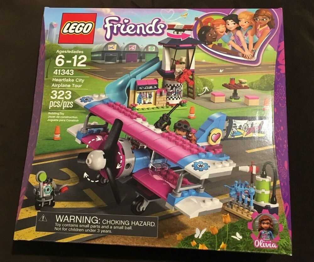Lego Friends Airplane Klippdesign
