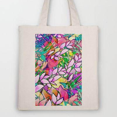 Grunge Art Floral Abstract G130 #society6 #tote #bag #floral #abstract #grunge #artwork http://society6.com/Medusa81/Grunge-Art-Floral-Abstract-G130_Bag#17=122