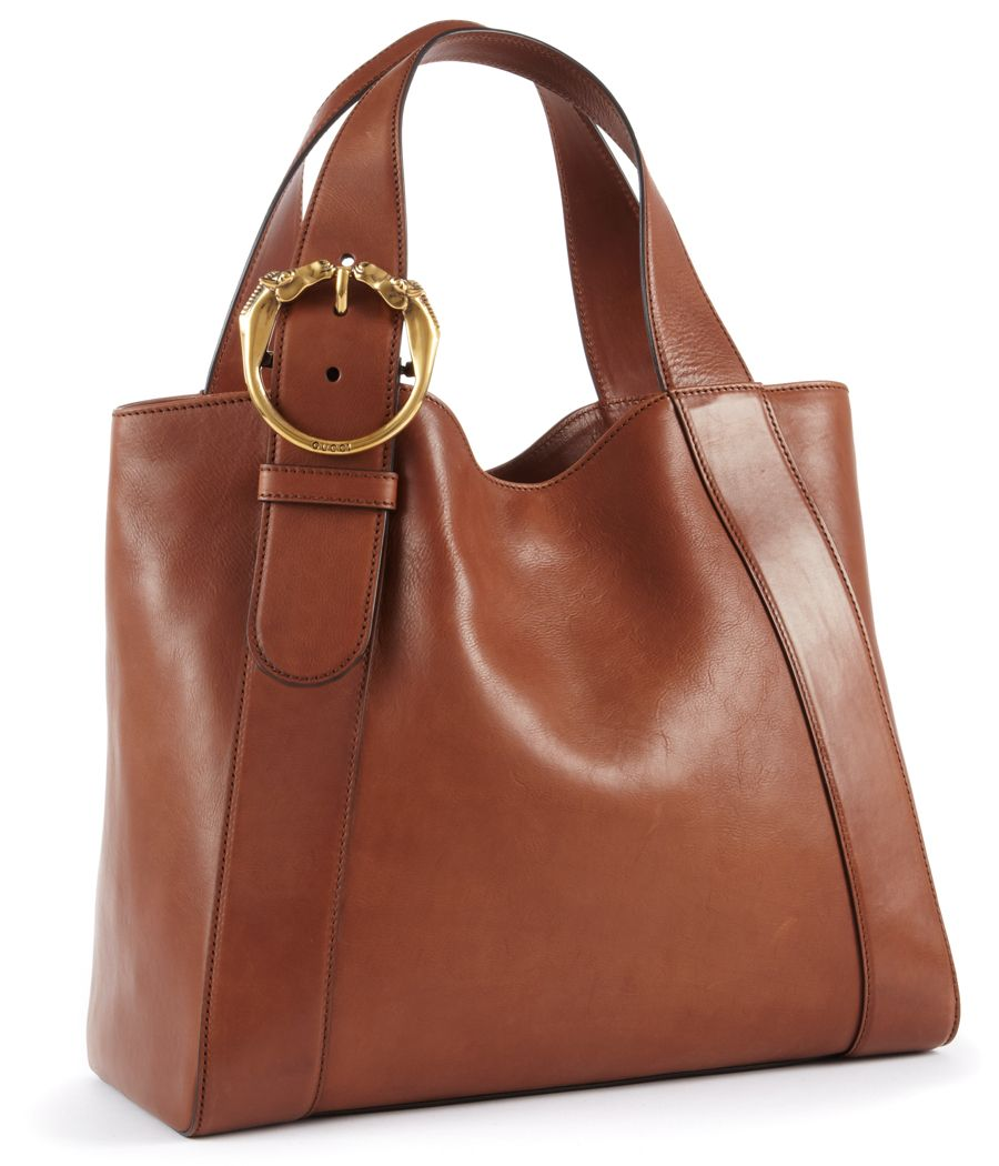 Gucci Ribot Horse-Heads Tote