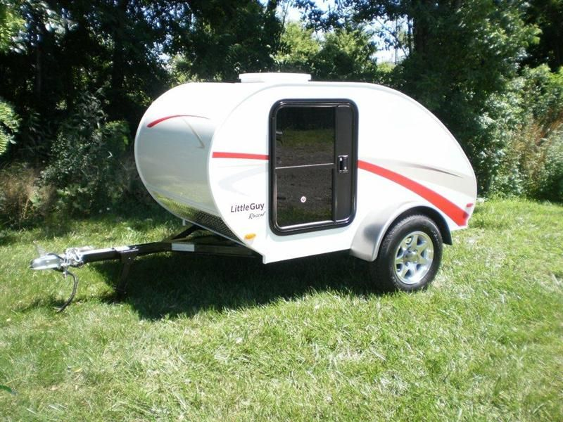 Little Guy Little Guy Rascal Teardrop Camper Trailer Sleeps 2 Extraordinary Small Camping Trailers With Bathrooms Design Ideas