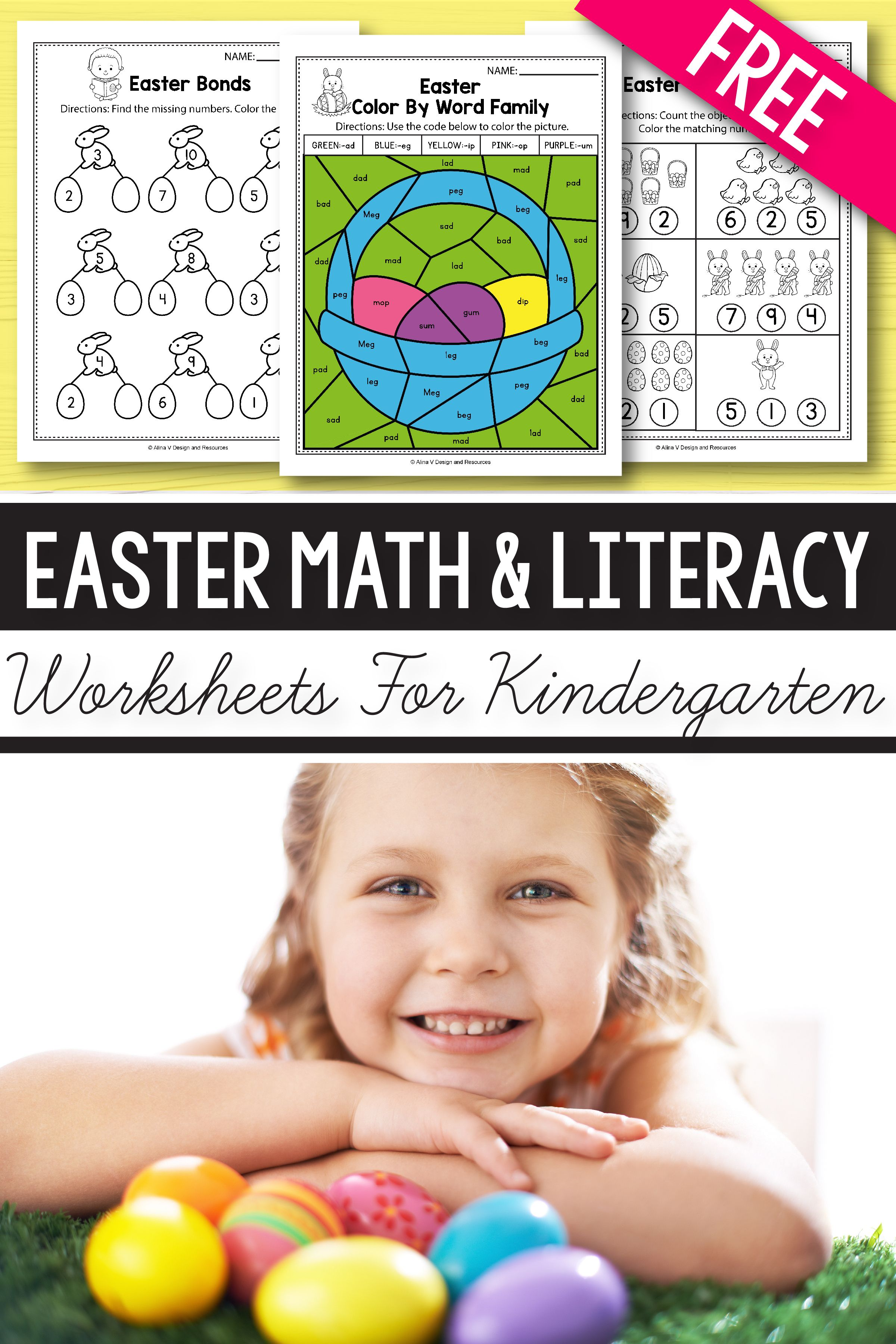 Free Easter Math Amp Literacy Activities And Worksheets For