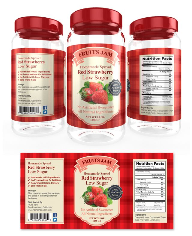 Strawberry Label Template Http://www.dlayouts.com/template