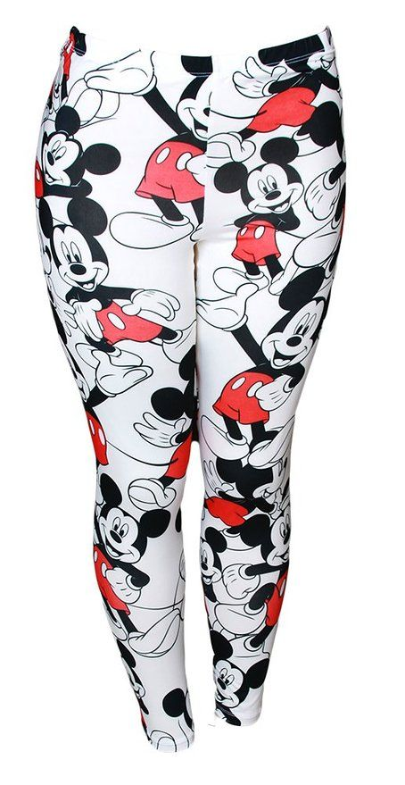 0a1bb5cf1c512 Fabulously Fun Mickey and Minnie Mouse Leggings You'll Fall in Love With