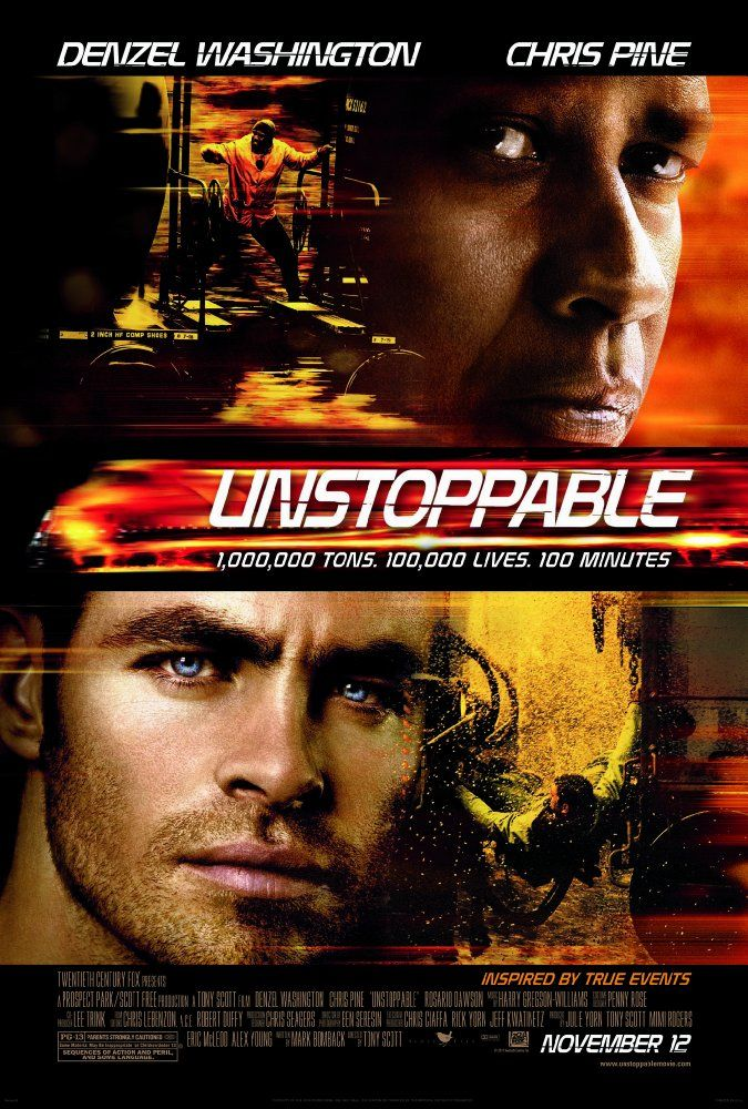 Unstoppable 2010 Denzel Washington Aksiyon Filmleri Film
