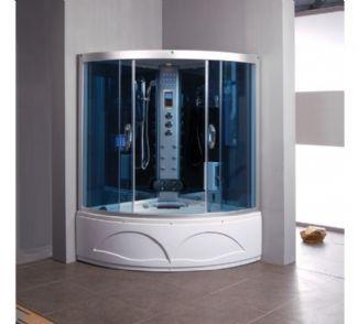 Relaxon Corner Whirlpool Steam Shower Spa Bath 1350mm X Furniture Uk