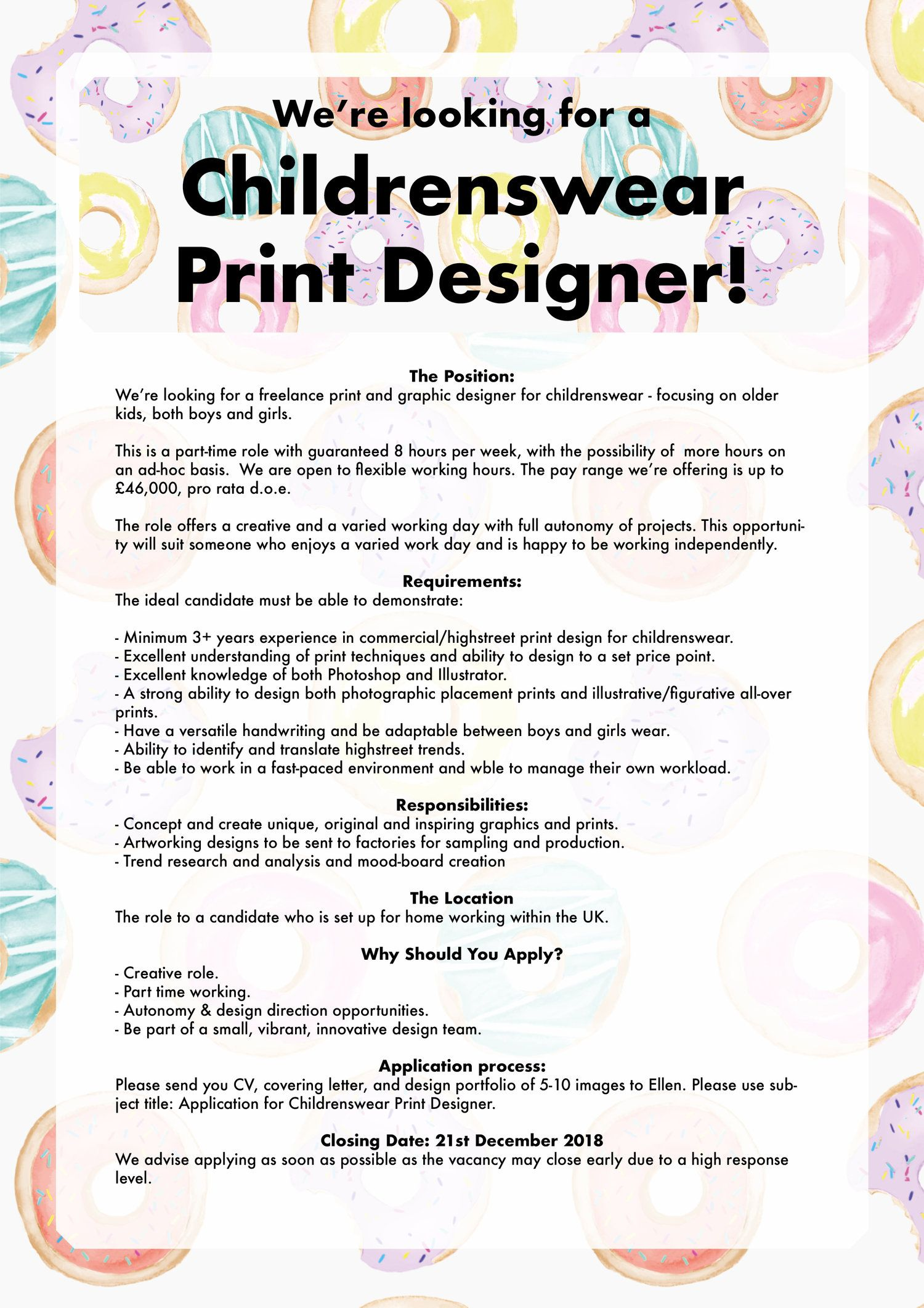 Textile Graphic Designer Job Description Leppe