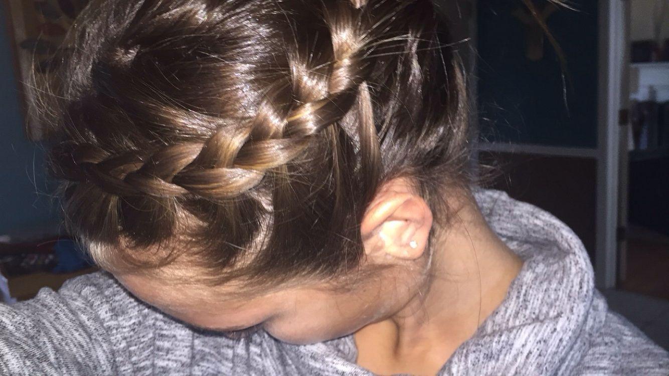 Cute and easy braid cute hairstyles pinterest