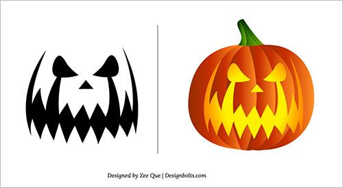 Free-Scary-Pumpkin-Carving Patterns-Ideas-Scary-Pumpkin-Carving ...