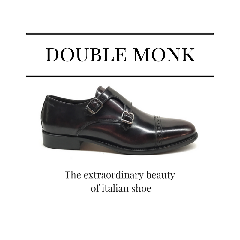 ESSENTIAL DOUBLE MONK SHOE - Katalog - midnight