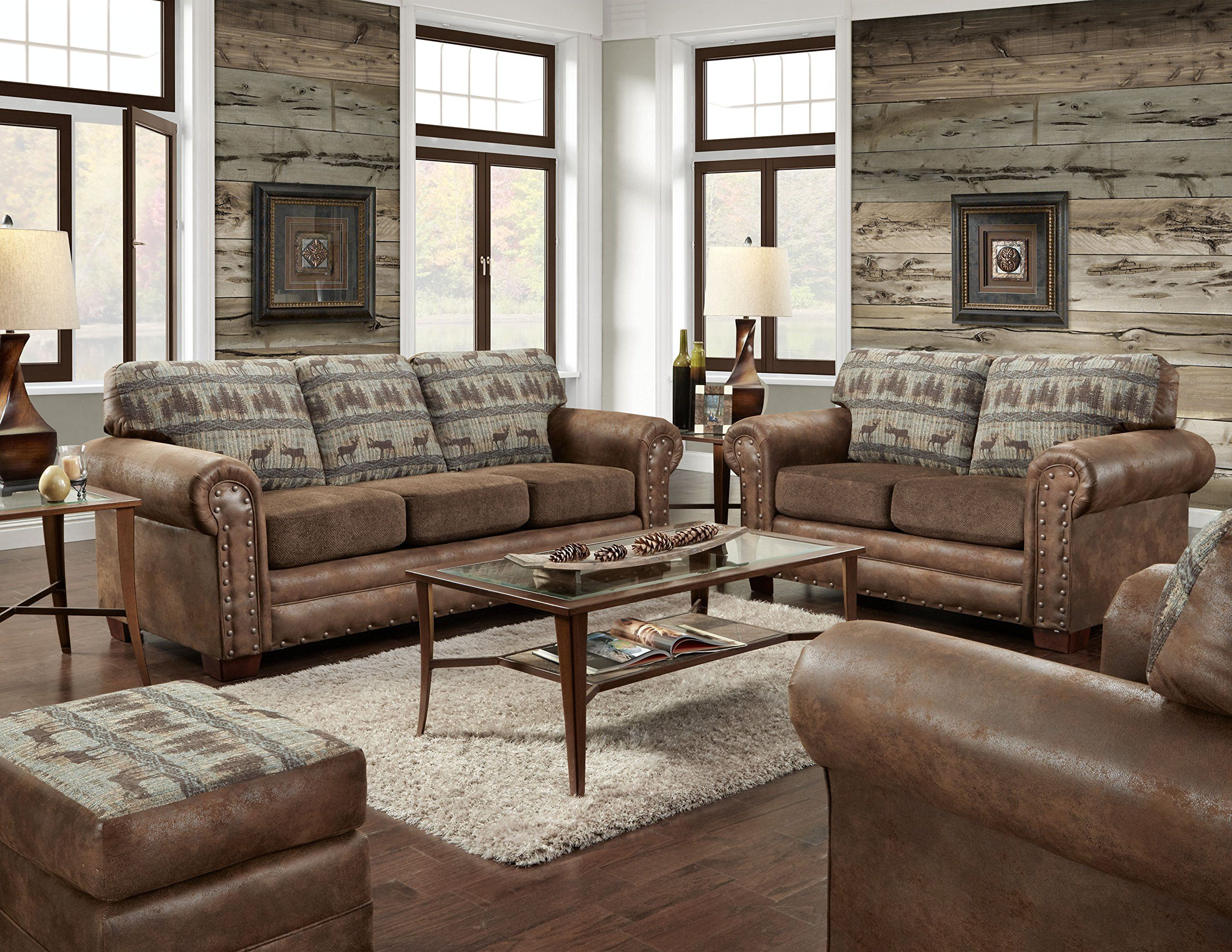 ebay sleeper picture p american sofa s classics horses furniture of wild