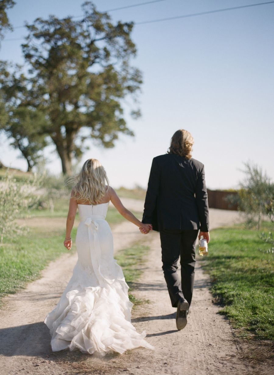 Rustic Fall Wedding At Scribe Winery Vaulting And