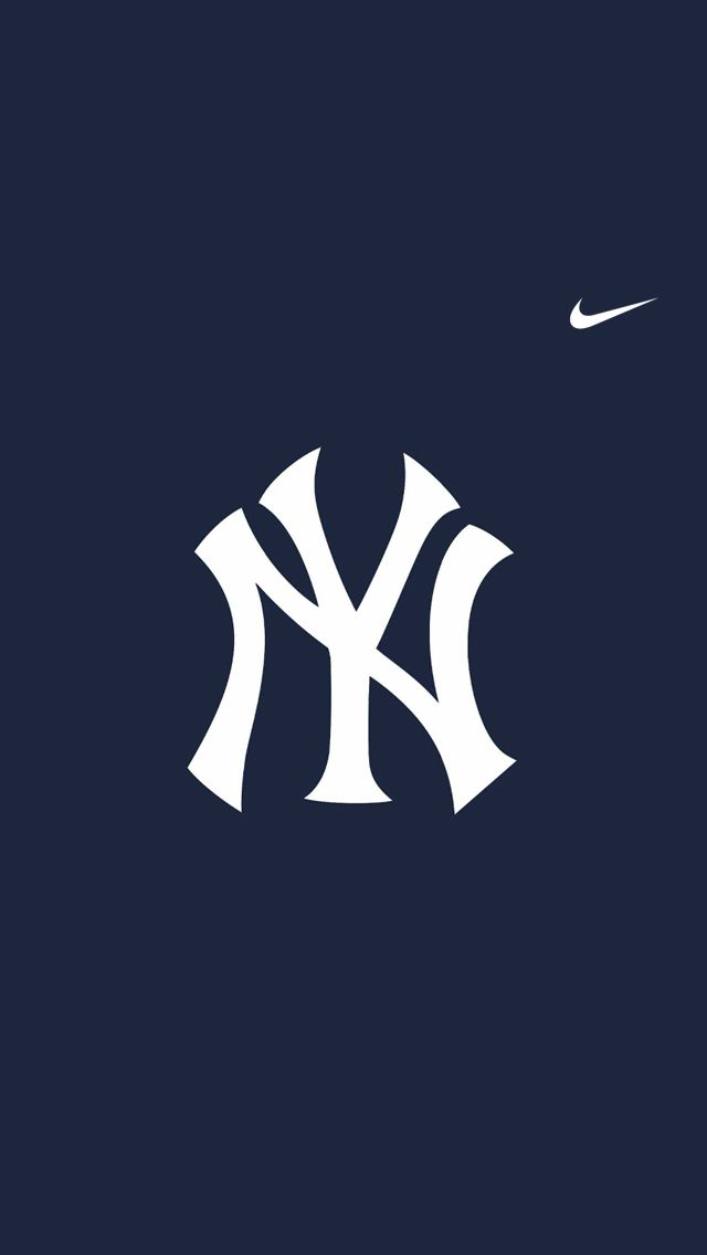 Iphone 5 Wallpaper Hd Sports 14 Yankees Nike Jpg 640 1136 New York Yankees Baseball Wallpaper Hypebeast Wallpaper