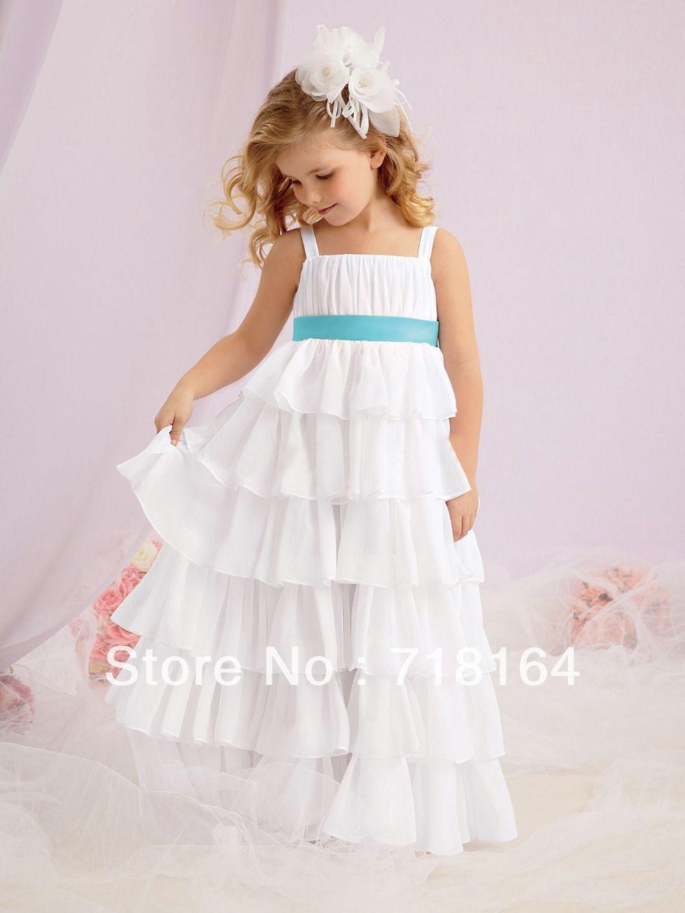 vestidos de niñas en chifon - Buscar con Google | vestidos para niña ...