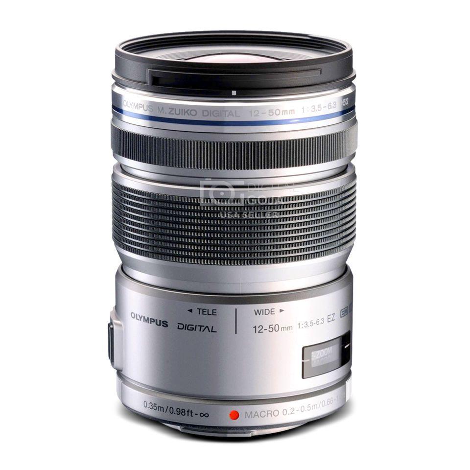 Olympus M Zuiko Ed 12 50mm F 3 5 6 3 Ez Micro 4 3 Lens Silver Tokina Lens Nikon Lenses Camera Lens