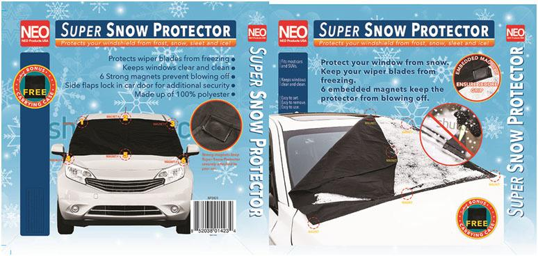 Super Snow Windshield Cover - 24 Units