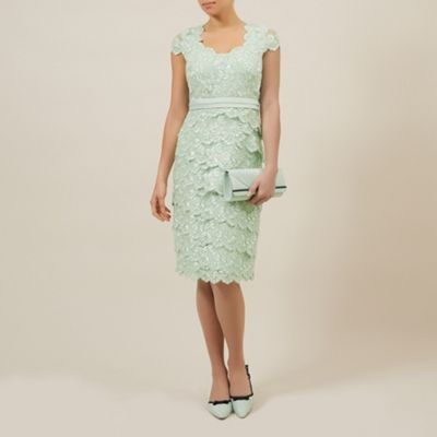 03dd96ff21c60 Jacques Vert Sweetheart lace layered dress- at Debenhams.com