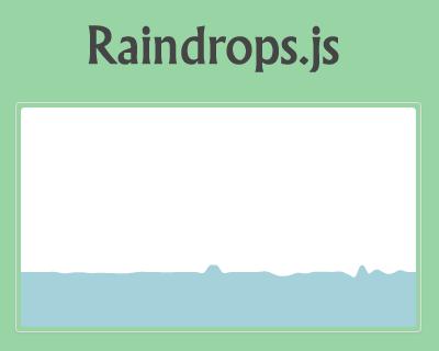 Raindrops js – Raindrops Effect Plugin for jQuery #effect