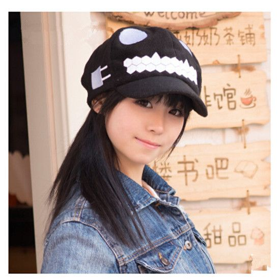 Collection black baseball cap from shimakaze monster cool cap for youth