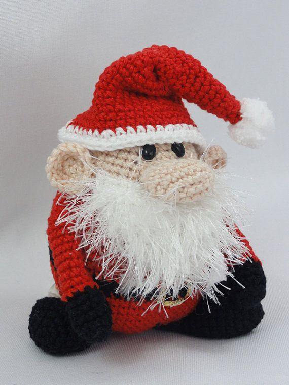Amigurumi Crochet Pattern - Santa Claus - XS Edition | Crochet ...