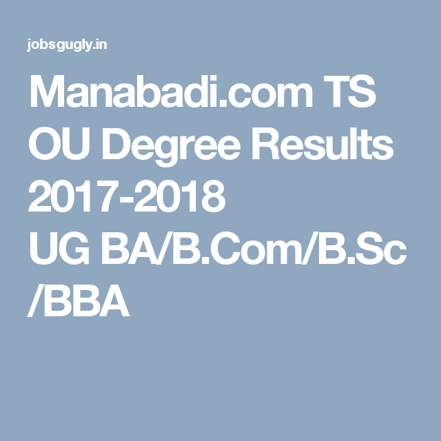 By Photo Congress || Degree B com Results 2018