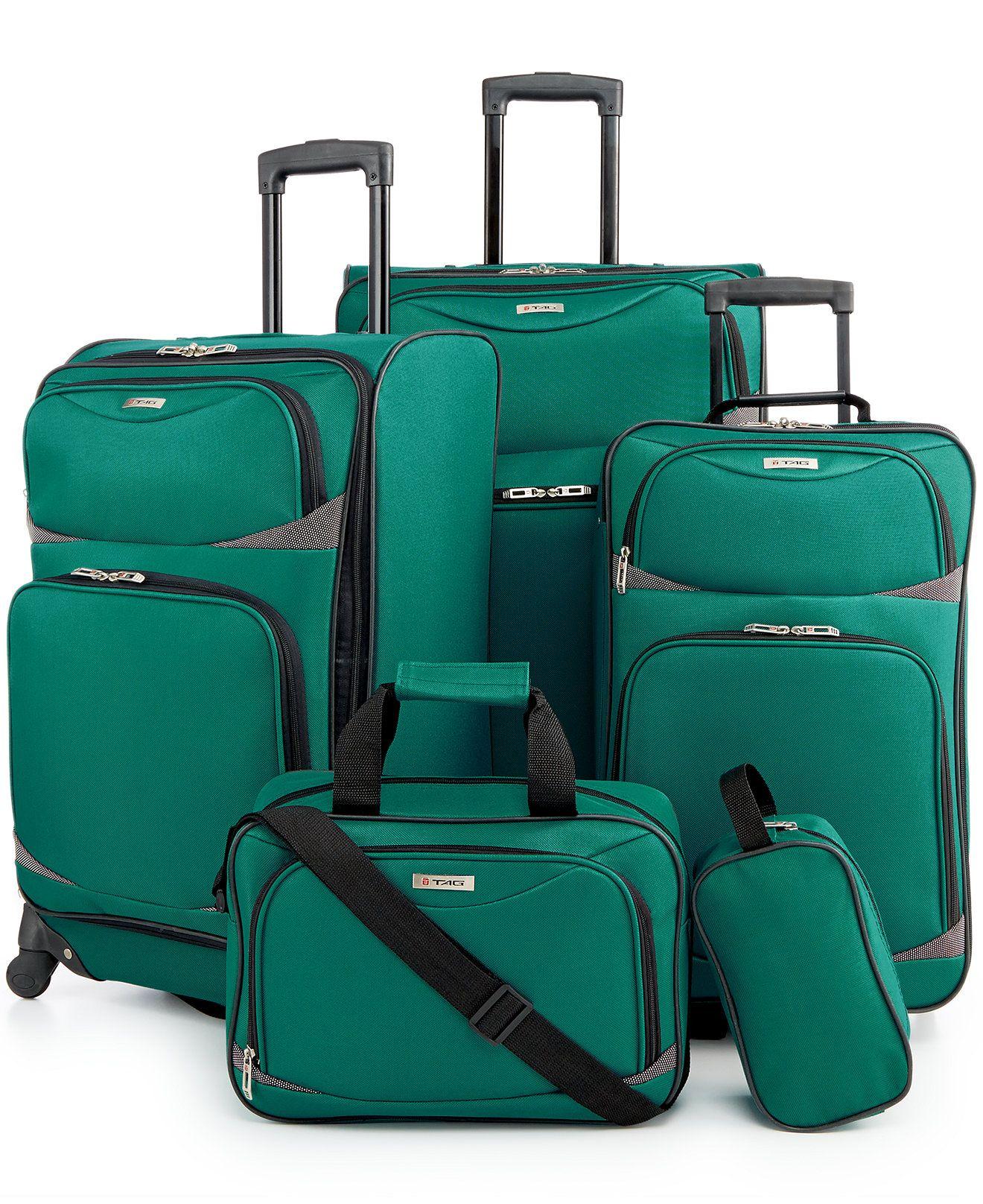 7353ef997d Tag Coronado II 5 Piece Spinner Luggage Set - Luggage Sets - luggage    backpacks - Macy s