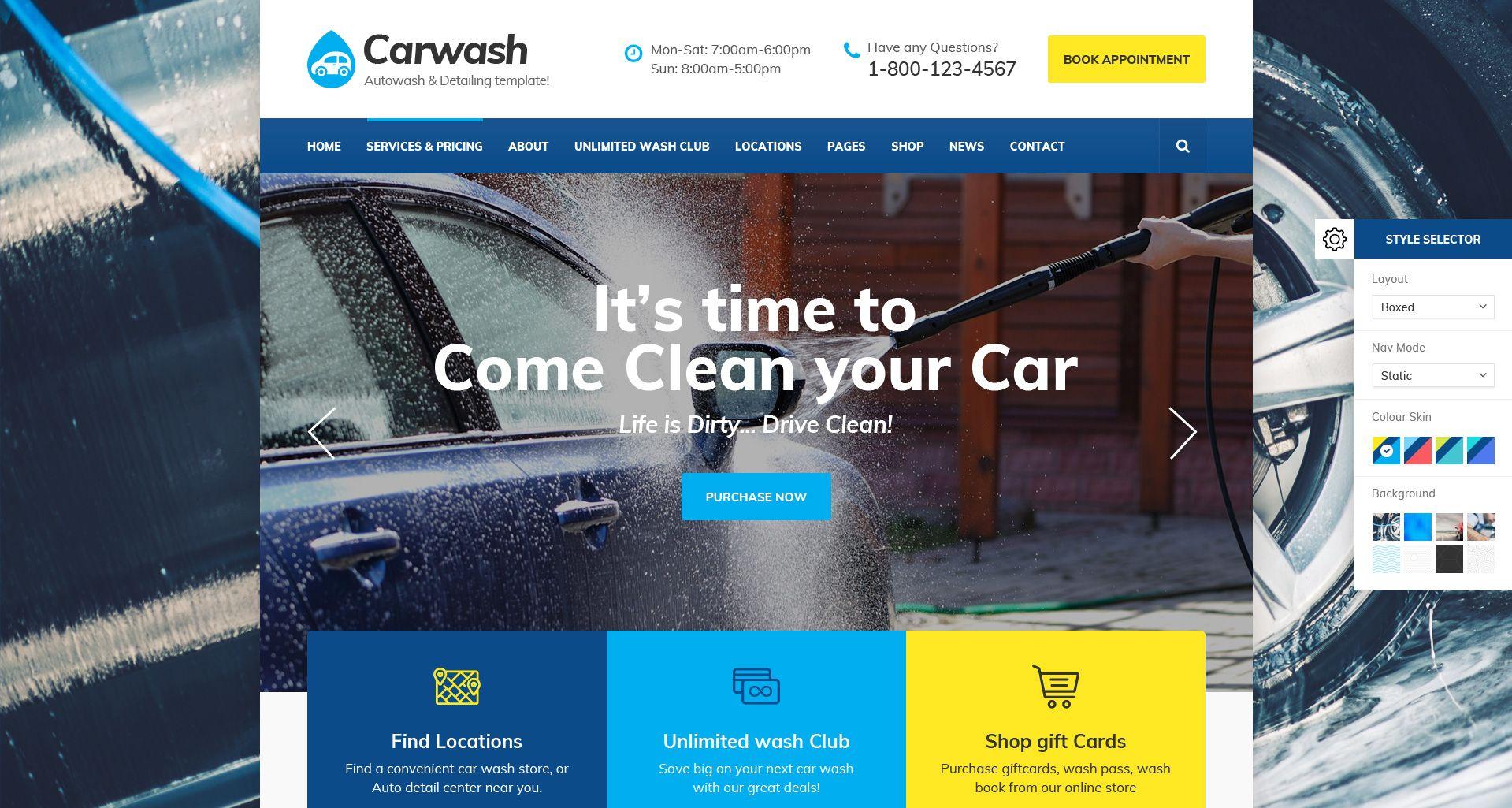 Car Detail Shops Near Me >> Car Wash Auto Detail Mechanic Repair Services Psd