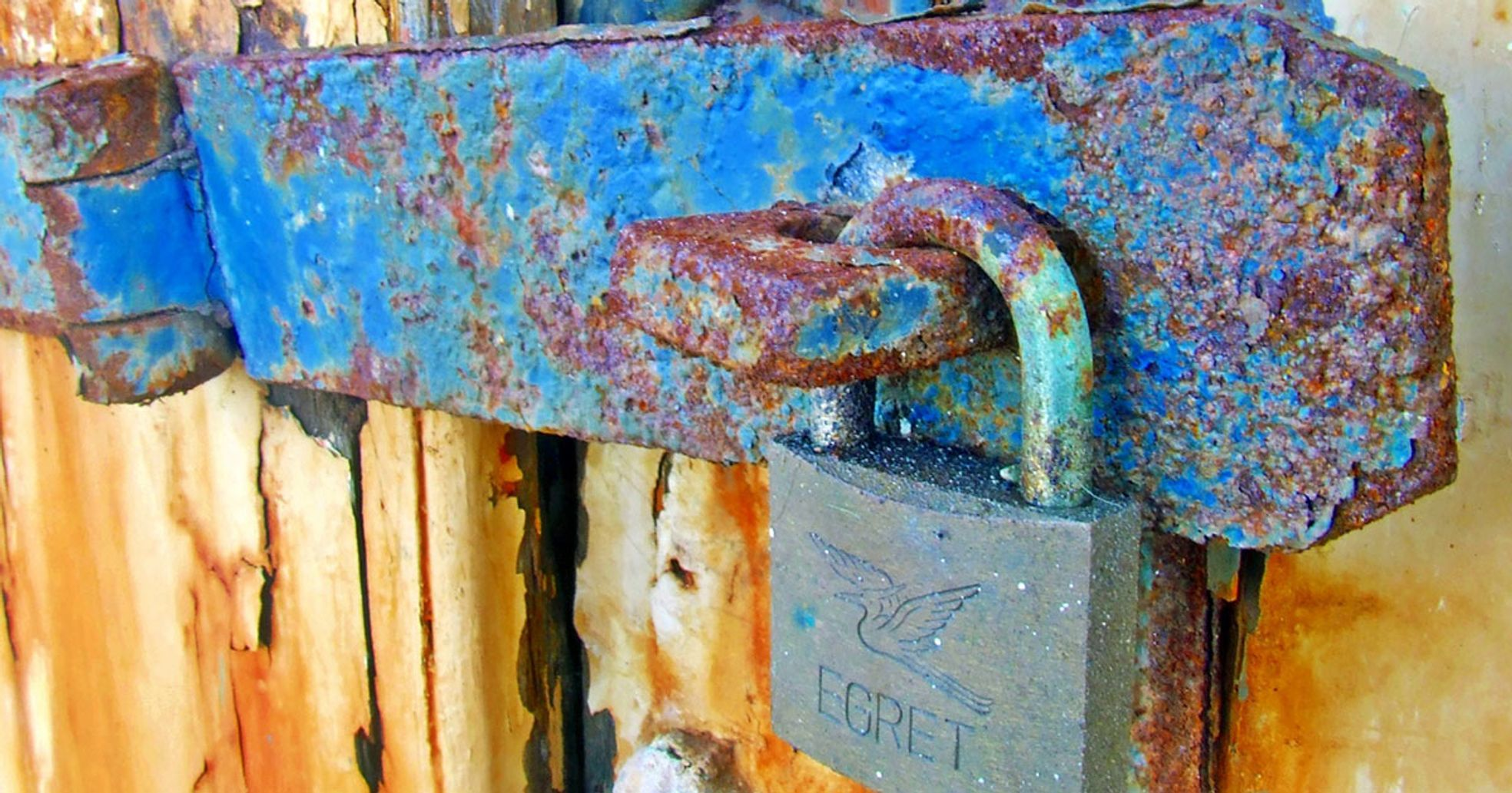 rusty locks helpful wd