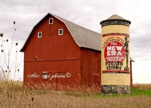 silo advertising barn art pinterest barn potato