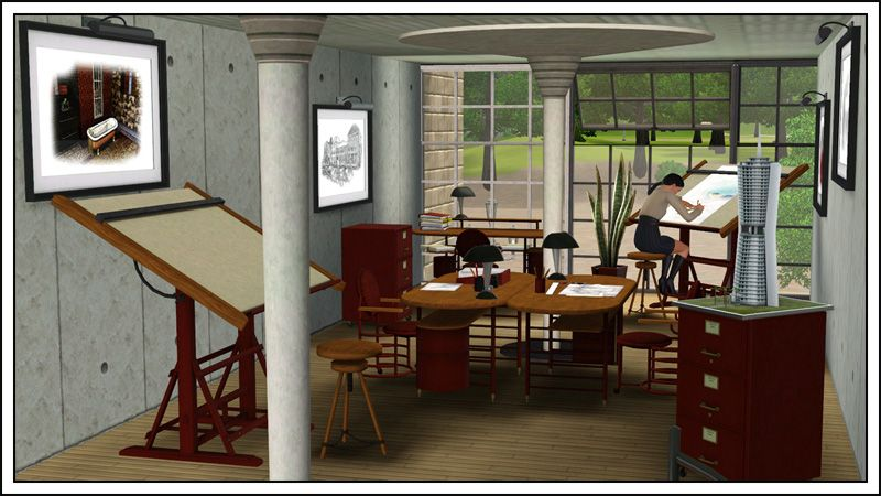 Around The Sims 3 Downloads Objects Office Sims Home Sims 3