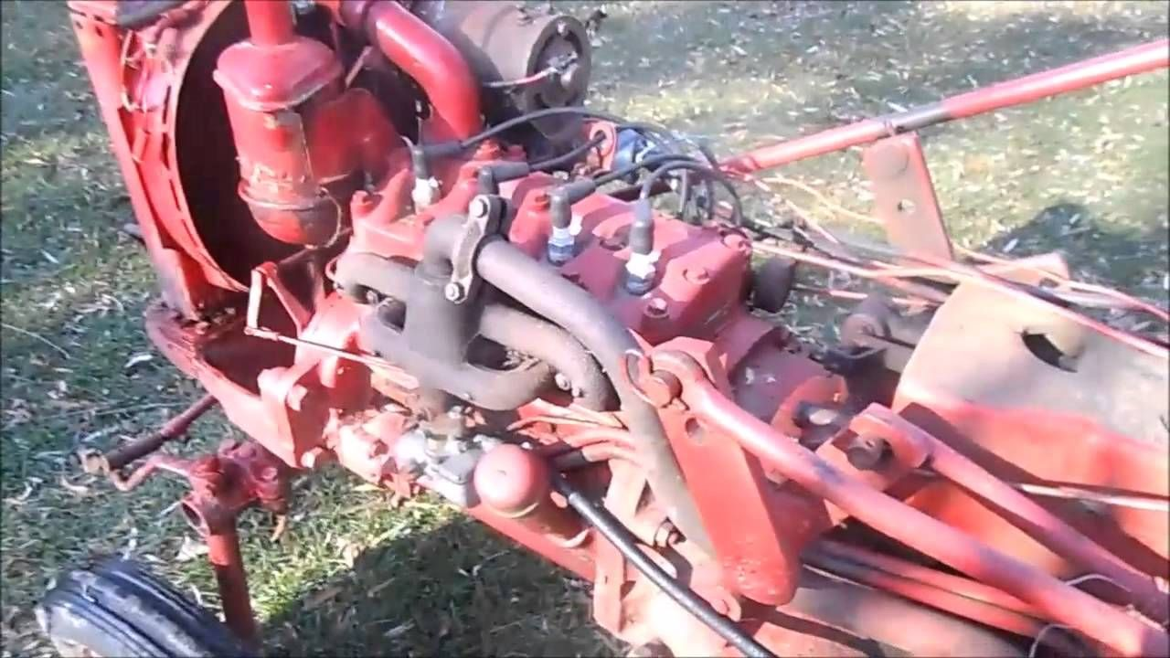 Ih Farmall Cub First Start In 2 Years 1963 Tractor Wiring Harness