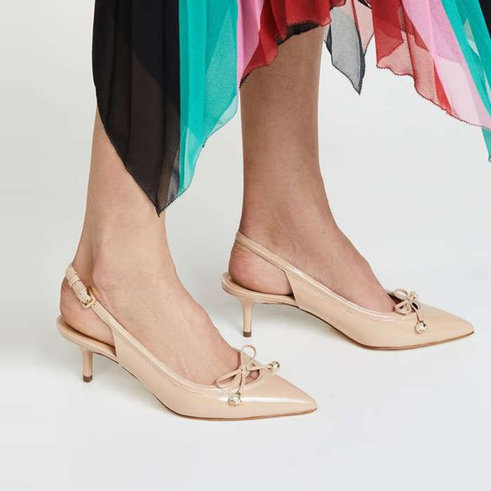 Rank & Style - MICHAEL Michael Kors Gia Slingback Pumps #rankandstyle