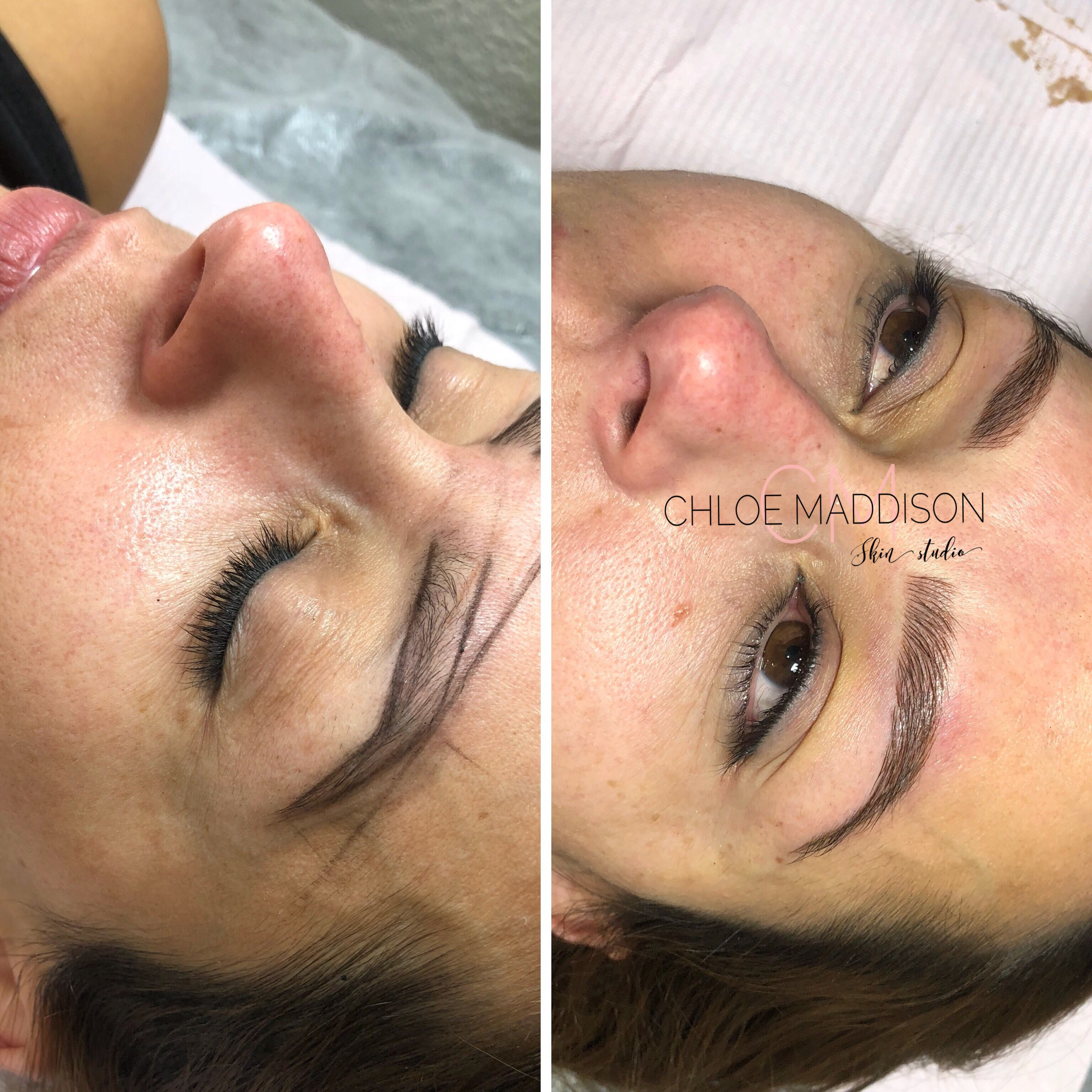 Strokes for this beauty performed at Chloe Maddison Skin
