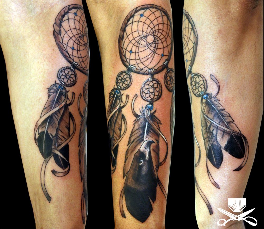 Dream Catcher Tattoo For Men Brilliant Dreamcatcher Tattoos For Men  Dreamcatcher Tattoos And Tattoo Decorating Inspiration