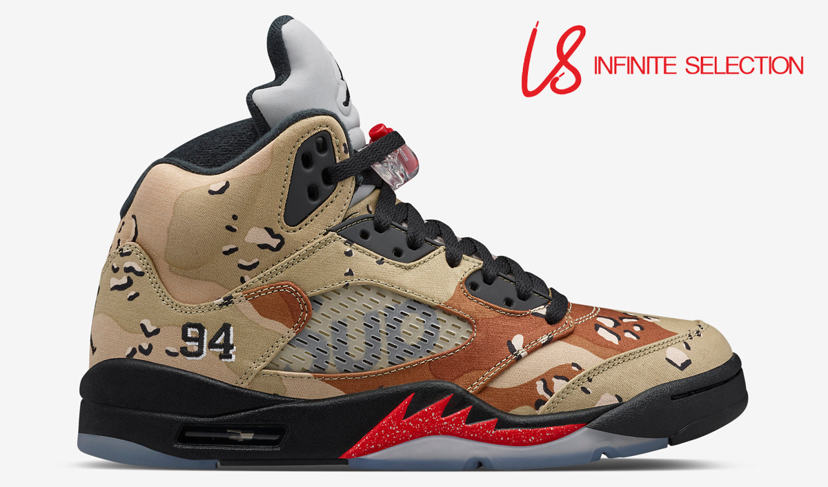 reputable site 365e2 964e4 Free pair of Air Jordan 5 Camo Supremes to one of our first 100 Subscribers