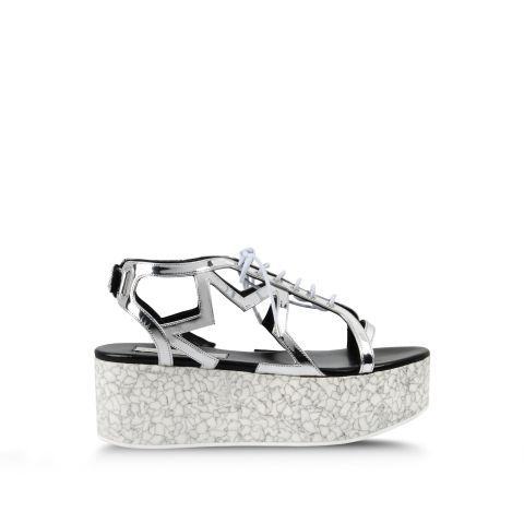 Stella McCartney Lucy Star Flatforms. Shop it and 29 other pairs of chic music festival-ready shoes.