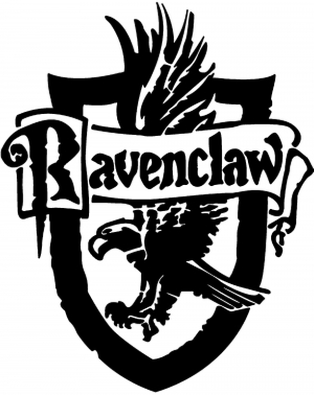 Movies Harry Potter Ravenclaw Crest Harry Potter Stencils Harry Potter Decal Harry Potter Ravenclaw