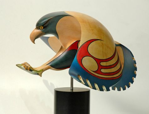 Hokioi • Great Night Bird by Rex Homan, Māori artist (KR90704)