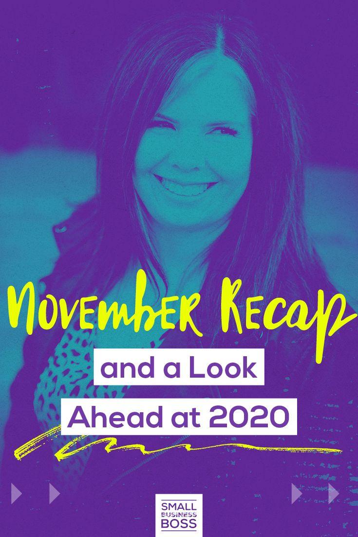 Episode 195 November Recap and a Look Ahead at 2020