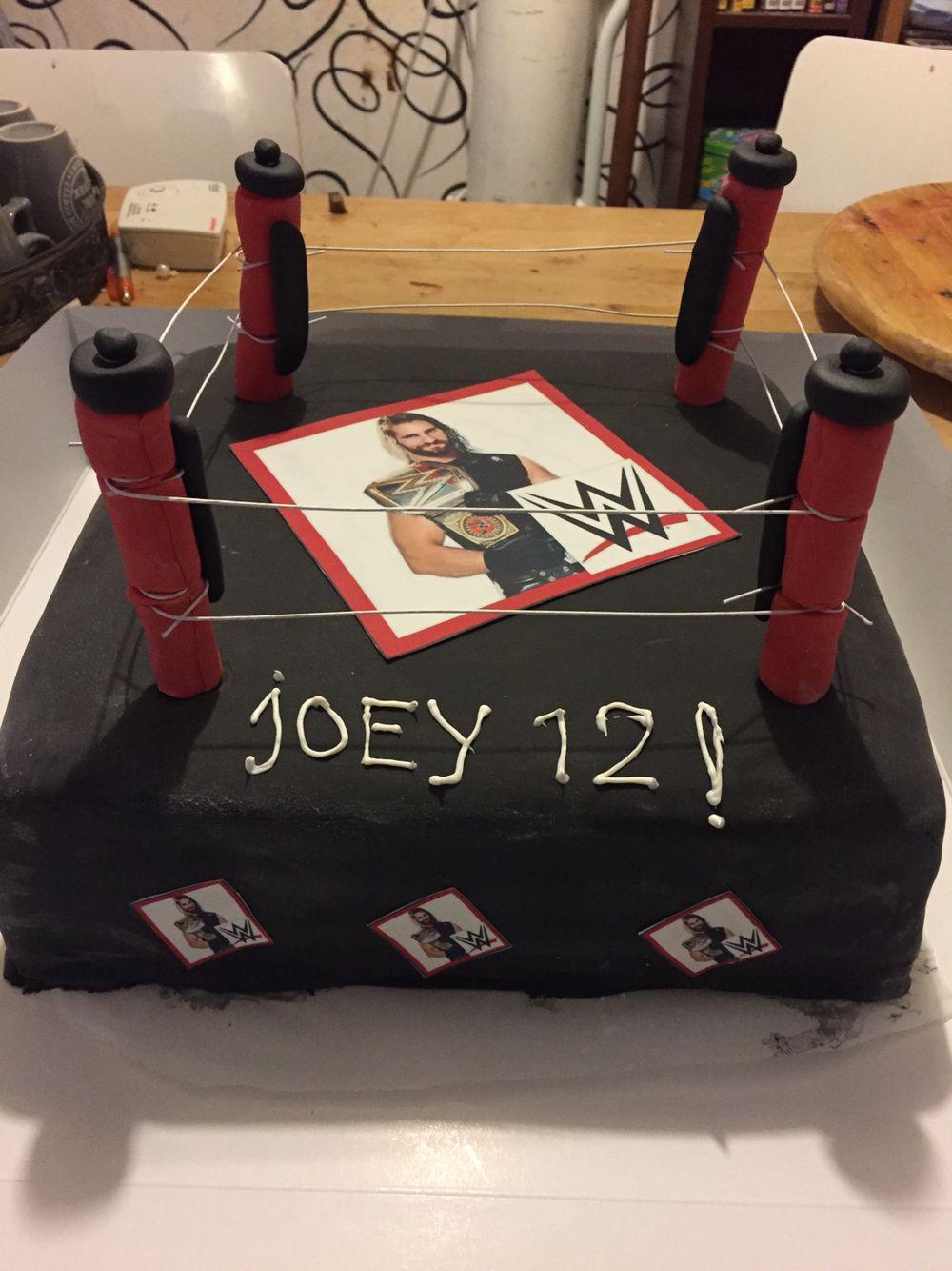 wwe taart WWE taart | Taart en lekkers | Pinterest wwe taart