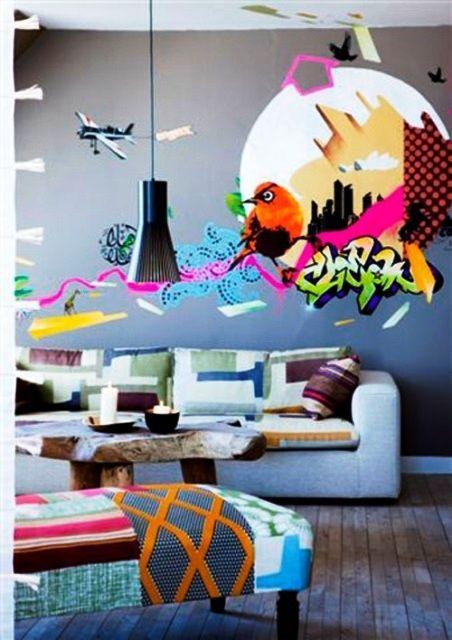 graffiti apartment - Cerca con Google